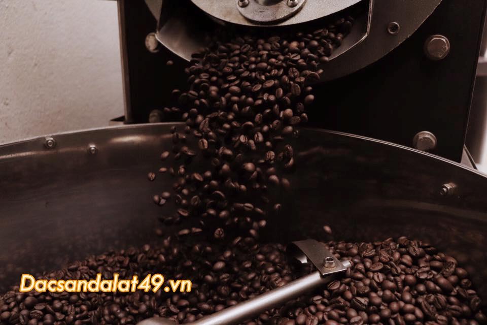 Cà phê rang xay nguyên chất 99% – rang mộc