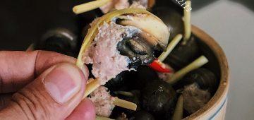 Ốc bươu nhồi thịt nổi rần rần tại Đà Lạt