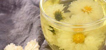 Giảm cân an toàn với trà hoa cúc chanh sả