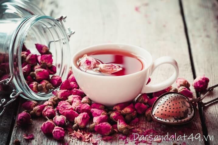 Trà hoa hồng đà lạt