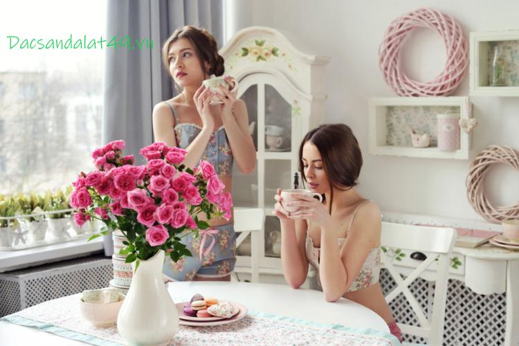 Trà hoa hồng bí quyết làm đẹp của các quý cô